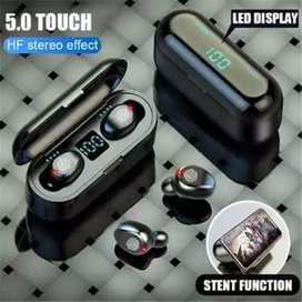 Audifonos Bluetooth Táctiles, Power Bank
