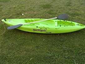 Kayak con Remo Urgente X Mudanza