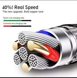 Cable USB tipo C para Samsung Xiaomi etc. carga rápida cargador de USB-C Cable de teléfono móvil USBC tipo c