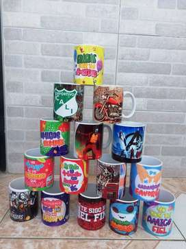 mugs sublimados por mayor 3.800