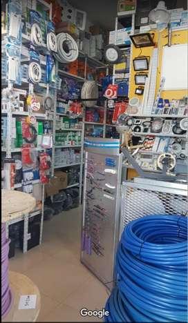 FONDO de COMERCIO Venta mat. eléctricos, LEDs, cables, etc (VDO/PMTO)