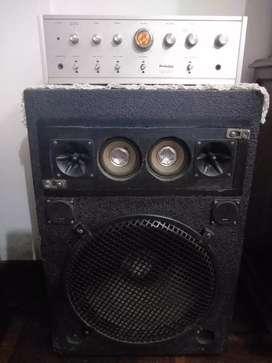 Columna de sonido con amplificador perfection