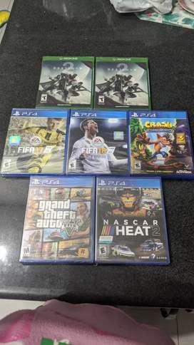 Juegos de PS4 y Xbox