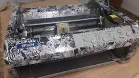 impresora de punto para Tattoo plantilla
