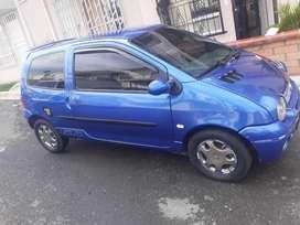 Renault twingo azul dynamiq modelo 2007