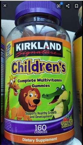 Gomas Multivitaminicas Infantiles