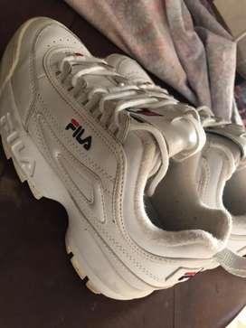 Zapatillas Fila originales con poco uso