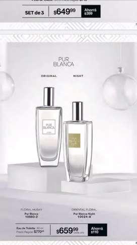 Vendo perfume pur blanca de Avon de dama