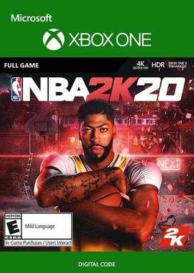 NBA 2k 20 Xbox One