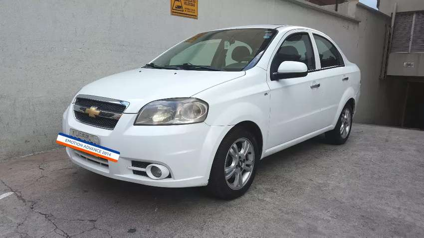 AVEO EMOTION ADVANCE 2014 IMPECABLE 0