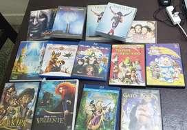 Vendo películas en DVD.