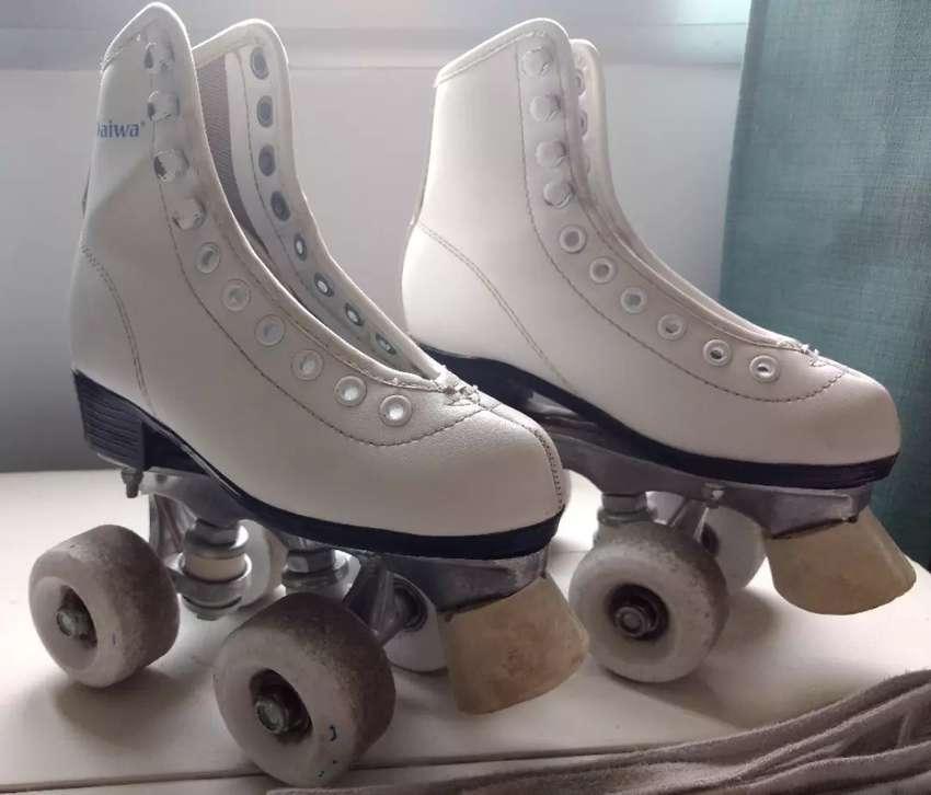 Patines con botas semiprofesional, daiwa 0