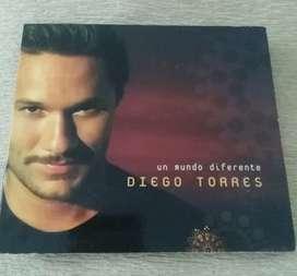 Cd original Diego Torres . Un mundo diferente . 2001 BMG . En muy buen estado