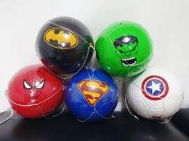Balón de Futbol infantil Súperhéroes #3 y #4