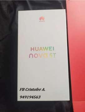 Huawei Nova 5T 128gb Equipo Nuevo Liberado