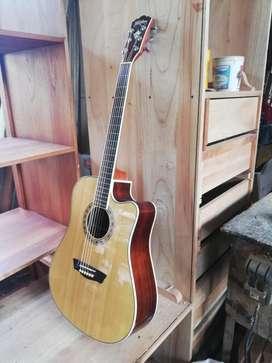 Guitarra Electroacústica Washburn Wd20sc