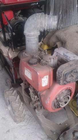 Bomba Caudal 4x4 Motor 10 Hp Diesel