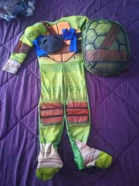 Disfraz Tortuga ninja talla, talla 8