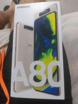 Se vende celular Samsung galaxy A80