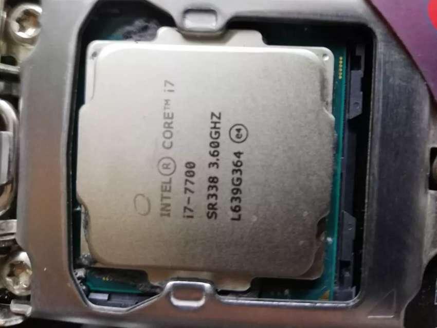 Combo Board +procesador corei7 septima G 0