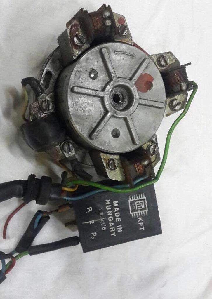 Rotor Interno Encendido completo ciclo 0