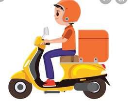 Se Requiere Vendedor con Moto