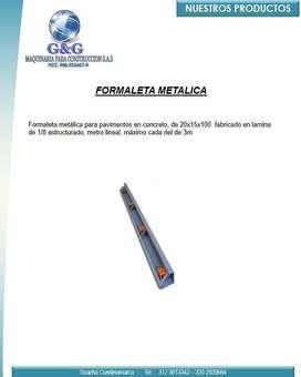 VENTA PARA MAQUINARIA DE CONSTRUCCIÓN