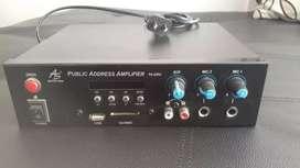 Amplificador Perifoneo con sirena