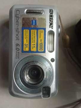 CAMARA SONY CYBER-SHOT 6.0 MPX