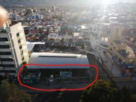 RENTO TERRENO con LOCAL en la Av. ELOY ALFARO y Ramón Borja * Puede arrendar todo o solo el frente * Ideal patio autos