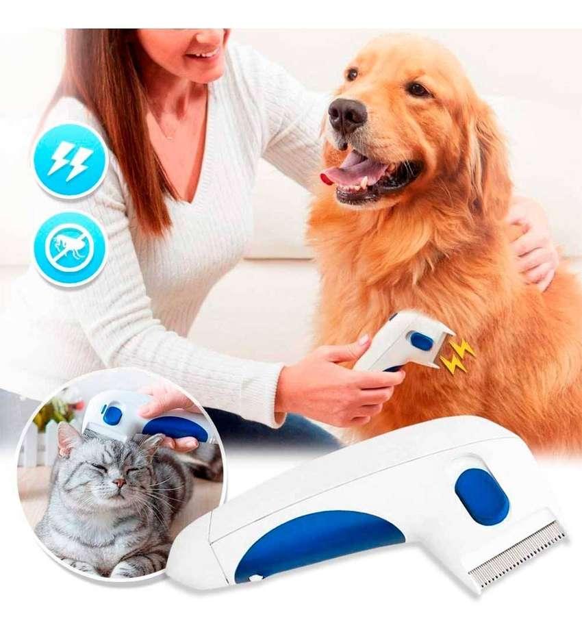 Peine eléctrico mata pulgas y garrapatas gatos y perros