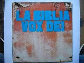 vox dei la biblia  2 vinilos de epoca consultar perfecto estado