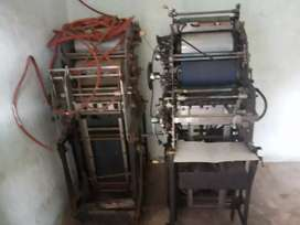 Máquina litografica ABD 375 offset