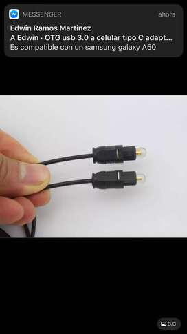Audio óptico Cable digital  1 y 3  metros certificado de gran calidad Por mayor y menor