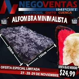 ALFOMBRA MINIMALISTA DE 150CMS X 200CMS MEGA PROMOCIÓN EXCLUSIVA ÚNICAMENTE AQUÍ EN NEGOVENTAS POR TIEMPO LIMITADO