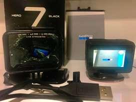 Vendo GoPro Hero 7 Black aun en garantia