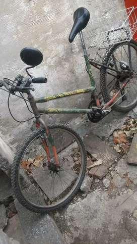 """Bicicleta r 26"""" td trr usada reparada"""