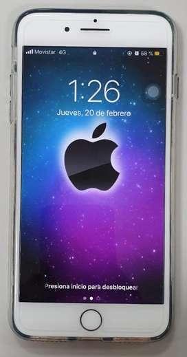 Celular iPhone 7 Plus Silver 32 Gb // Excelente Estado / Bog