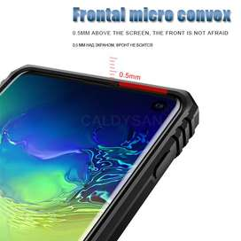 Estuche Carcasa Protector Con Anillo Soporte Samsung Note 10 / Note 10 Plus / S 10 / S 10 Plus