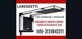 Servicio técnico de duchas Lorenzetti venta reparacion Instalación