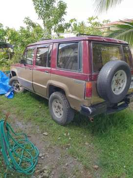 Se vence Isuzu Trooper