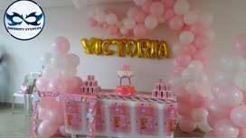 Decoracion de baby shower, fiestas infantiles recreacion