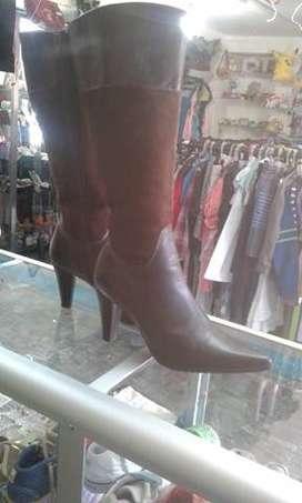 botas de dama talla 38