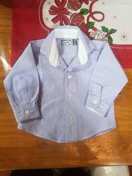 Camisas de bebé talle 0 y 1