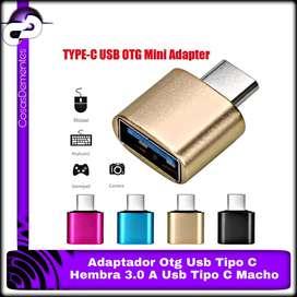 ADAPTADOR OTG USB HEMBRA 3.0 A USB TIPO C MACHO CABLE OTG