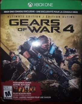 Gears of war 4 xbox one cambio por juego ps4