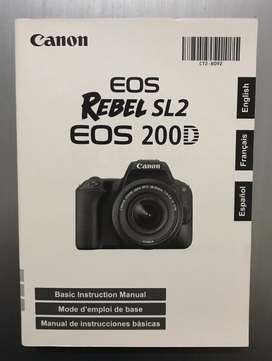 Cámara Canon Eos Rebel Sl2