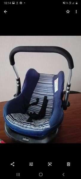 Silla de coche infantil con base para auto