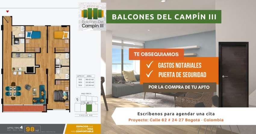 Apartamento Bogotá Barrio Campin Nuevos Constructora Tipo 4 0