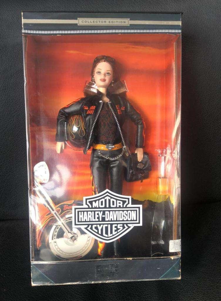 Harley Muñeca Barbie Coleccion Año 2000 0